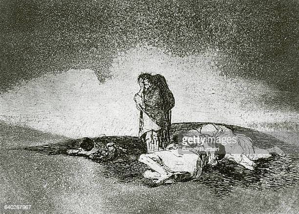There is no one to help them by Francisco Goya