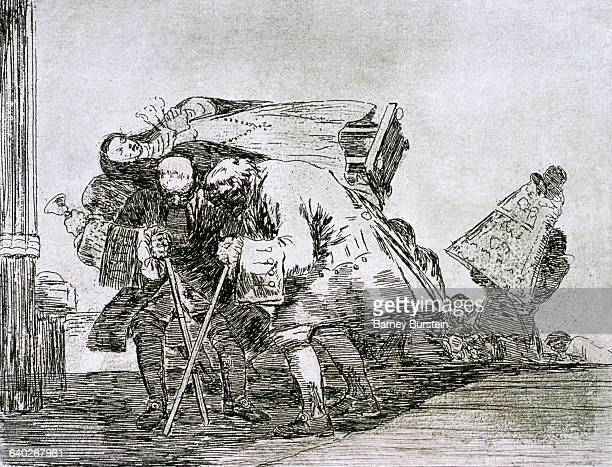 This is no less curious by Francisco Goya