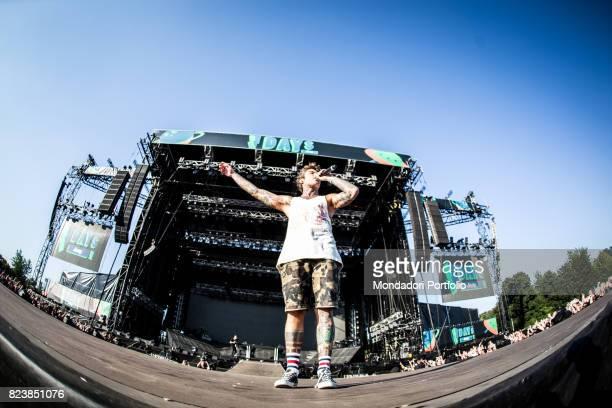 The disc jockey Martin Garrix in concert for the iDays Festival 2017 at the Autodromo Nazionale di Monza Monza Italy 18th June 2017