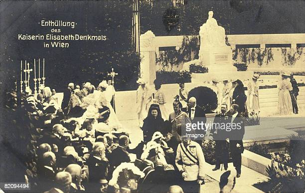 The disclosure of the monument to Empress Elisabeth Some years after the murder of the Empress Elisabeth of Austria a monument was raised in the...