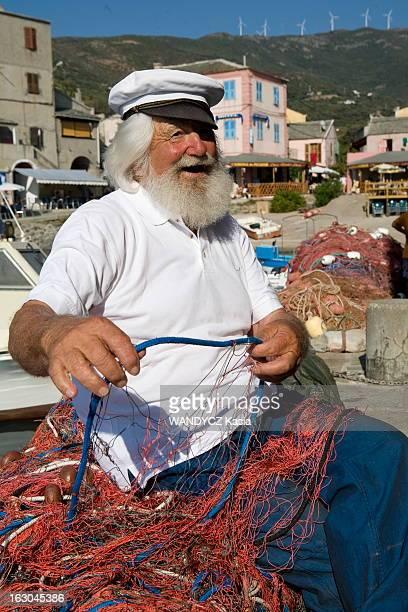 The Discovery Of The Corsican Cooking A la découverte d'une région du monde par sa gastronomie Cette semaine la Corse Pierrot 80 ans posant sur le...