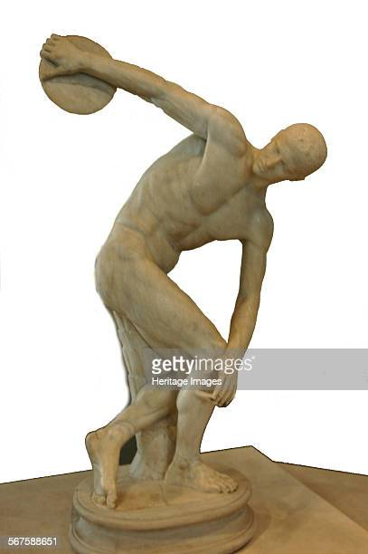 The Discus Thrower Roman copy of the Greek original by Myron Culture Roman Place of Origin Rome Credit Line Werner Forman Archive NJ Saunders/...