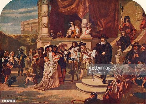 The Disgrace of Lord Clarendon after His Last Interview with the King in Whitehall Palace 1667' Edward Hyde 1st Earl Clarendon was King Charles II's...
