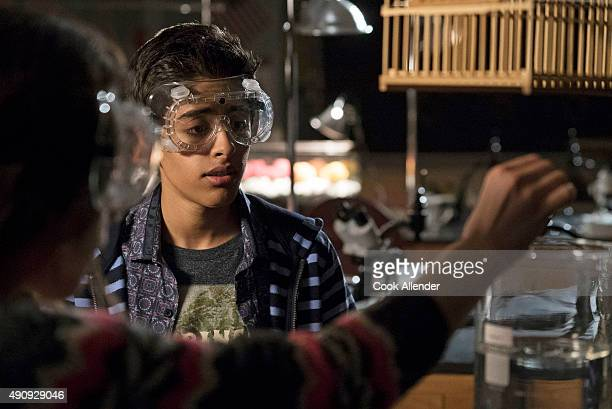 """The Disney Channel Original Movie """"Invisible Sister"""" follows science prodigy Cleo, whose class experiment turns her popular sister and star athlete,..."""