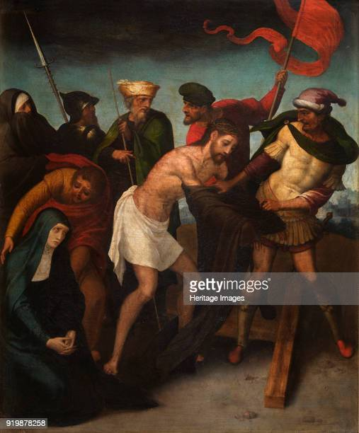 The Disrobing of Christ ca 1545 Found in the collection of Museo de Bellas Artes de ValenciaFine Art Images/Heritage Images/Getty Images