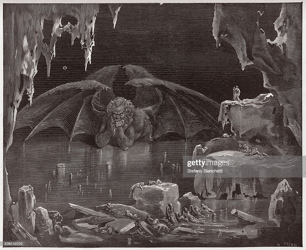 Illustration from Dante's Inferno : News Photo