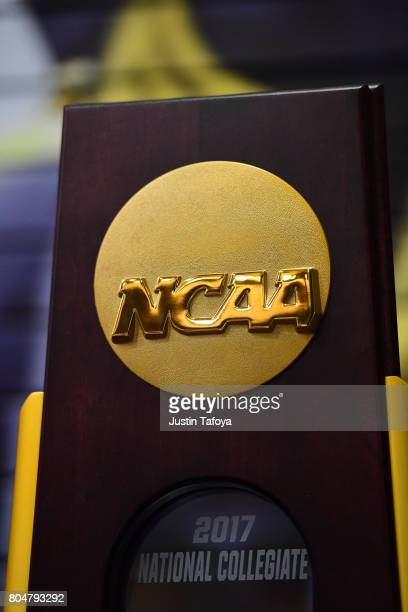 The Division I Men's Gymnastics Championship held at the Holleder Center on the US Military Academy campus on April 22 2017 in West Point New York...