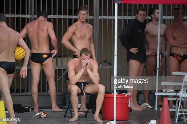 The Division I Men's Water Polo Championship held at the Uytengsu Aquatics Center on the University of Southern California campus on December 3 2017...