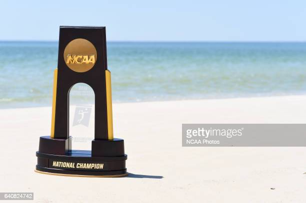 The Division I Women's Beach Volleyball Championship takes place at the Beach at Gulf Shores in Gulf Shores AL Jamie Schwaberow/NCAA Photos via Getty...