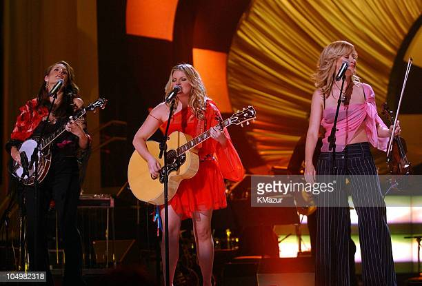 The Dixie Chicks during VH1 Divas 2002 Show at MGM Grand Arena in Las Vegas Nevada United States