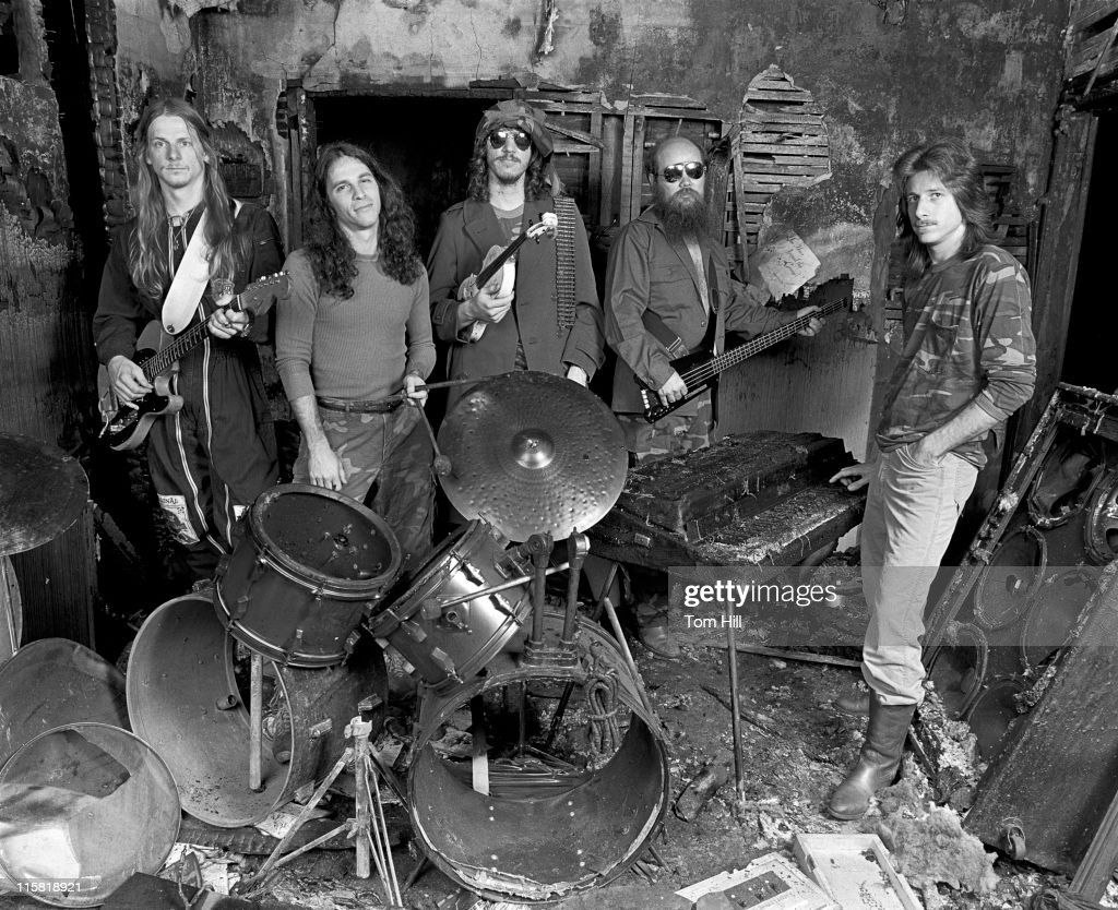 The Dixie Dregs in Burned out Practice Room - April 20, 1981