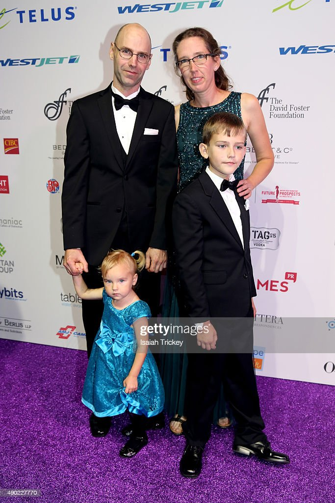 The Dixon family arrive at the David Foster Foundation Miracle Gala And Concert at Mattamy Athletic Centre on September 26, 2015 in Toronto, Canada.
