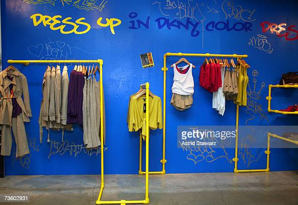 The DKNY flagship store hosts a book signing for GRAFFITI NYC and fundraiser for the All City organization on March 15, 2007 in New York City.