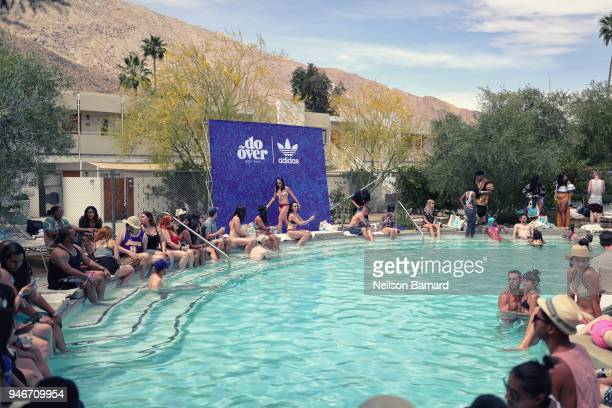 'The Do Over' with adidas at the Ace Hotel during Coachella weekend on April 15 2018 in Indio California