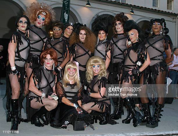 The Dobermans during 4th Annual Best in Drag Show to Benefit Aid for AIDS at WilshireEbell Theater in Los Angeles California United States