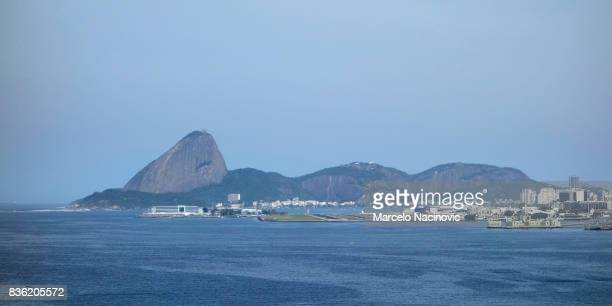 The docks and Rio de Janeiro Downtown