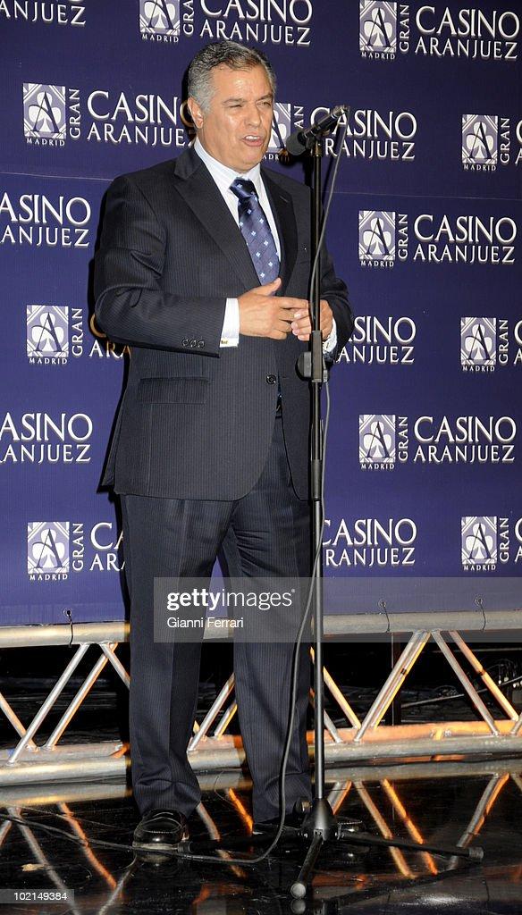 The doctor Bartolome Beltran, winner of the award 'Golden Antenna', 27th September 2009, 'Gran Casino de Aranjuez', Aranjuez, Madrid.