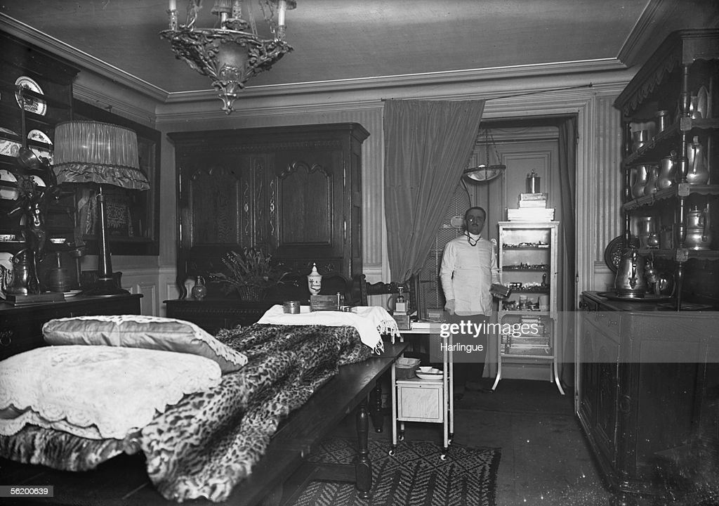 The Doctor Bouchon Aesthetic Surgeon In His Office Paris About News Photo Getty Images