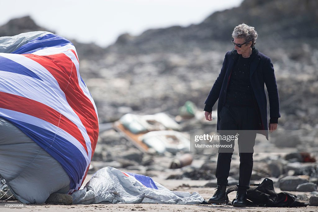 Doctor Who Filming : News Photo