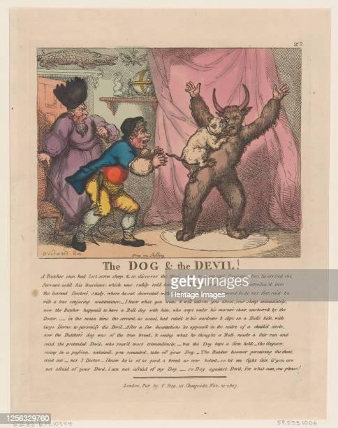 The Dog The Devil November 21 1807 Artist Thomas Rowlandson