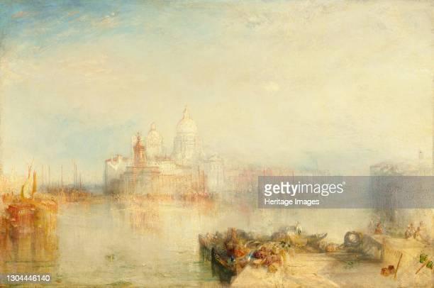 The Dogana and Santa Maria della Salute, Venice, 1843. Artist JMW Turner.