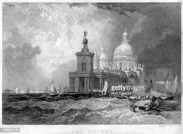 The Dogana Venice Italy 19th century