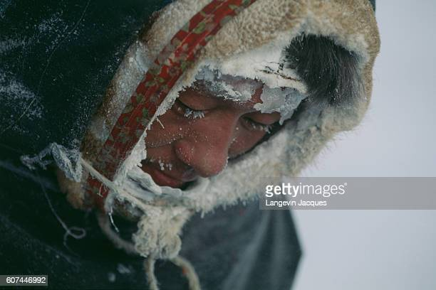 The Dolgans traditionally a nomadic people who live along the Taymyr Peninsula in northern Siberia hunt wild reindeer for food and clothing |...