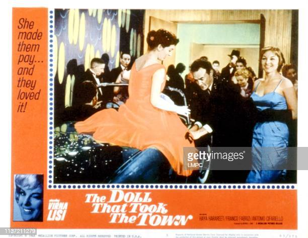 The Doll That Took The Town lobbycard Haya Harareet Franco Fabrizi 1956