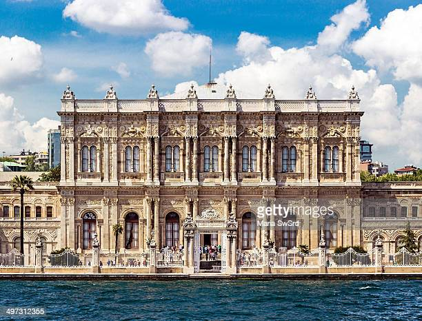 CONTENT] The Dolmabahe Palace located in the Besiktas district of Istanbul Turkey on the European coastline of the Bosphorus strait served as the...