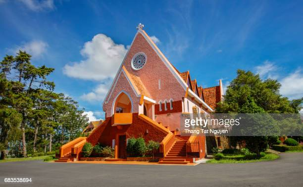 The Domaine de Marie Church Dalat, Lam Dong, Vietnam