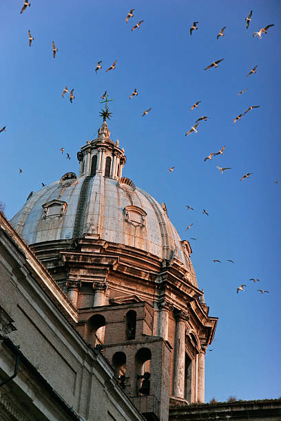 The dome of Sant'Andrea della Valle