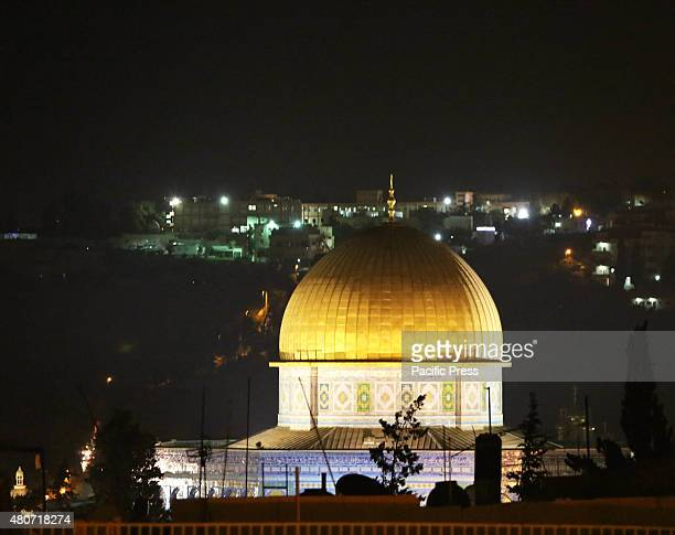 The Dome of the Rock in Eastern Jerusalem during the night of Laylat Al Qadr In the last week of Ramadan one of the most important and most holy...