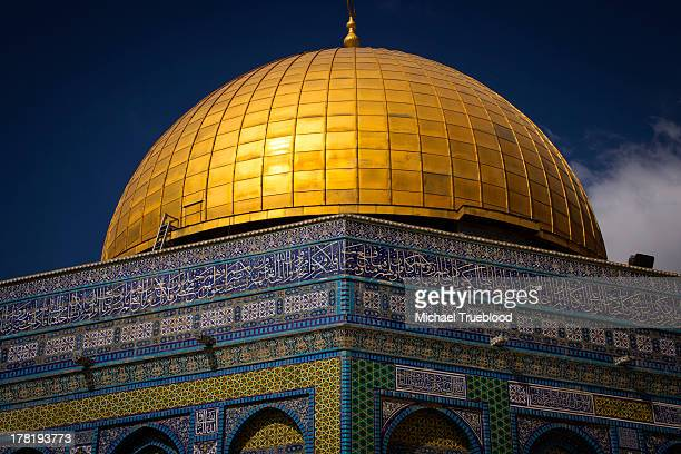 CONTENT] The Dome of the Rock located on the Temple Mount in the Old City of Jerusalem is according to some scholars the place where Muhammad...