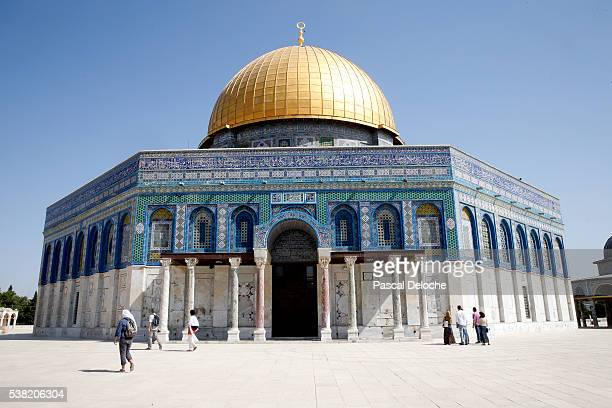 The Dome of the Rock, on Jerusalem's Temple Mount, is one of the holiest shrines in Islam.