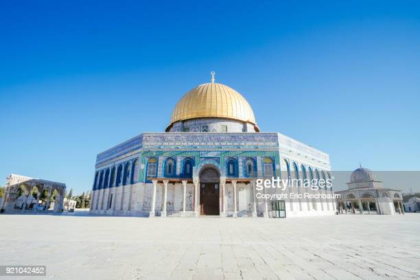 the dome of the rock - jerusalem stock pictures, royalty-free photos & images