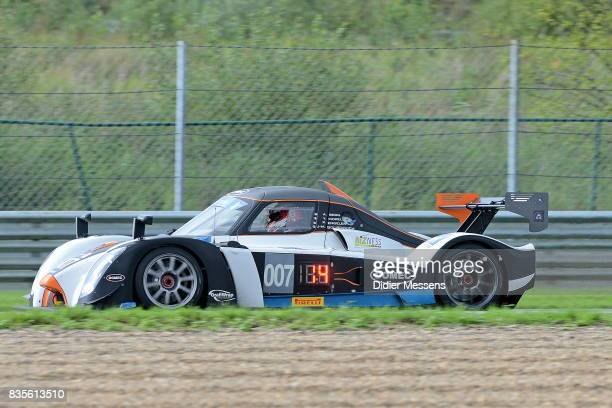 The DOMEC RXC of JeanMarc Bourdouch Yves Morel Alain Berg and Patrick Engelen drives during the Zolder 24 Hours race on August 19 2017 in...