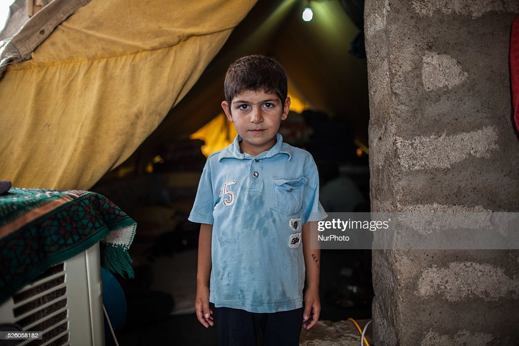 The Domiz Camp for Syrian Refugees in the Northern Iraq : News Photo