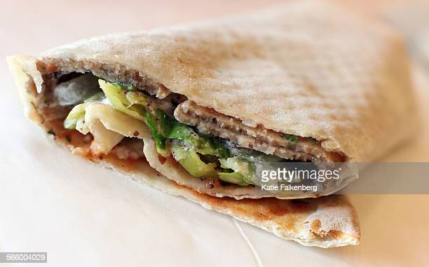 The Doner Kebab wrap is one of the wraps offered at Wraps Xpress in Irvine