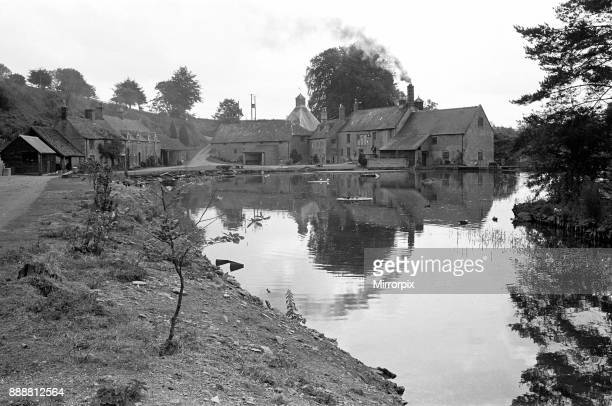 The Donnington Brewery at Stow on the Wold 5th July 1963