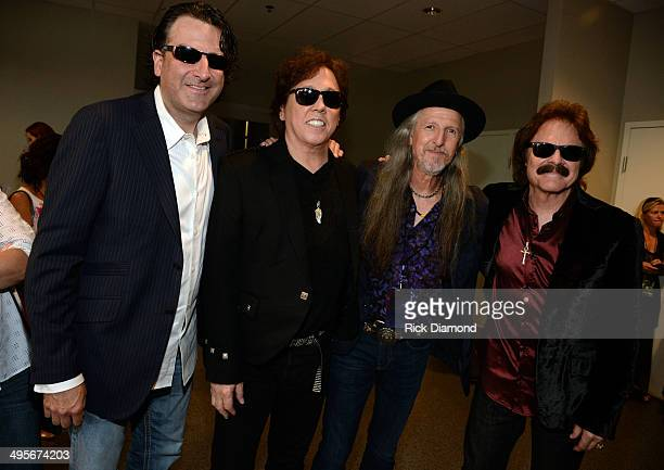The Doobie Brothers attend the 2014 CMT Music Awards at Bridgestone Arena on June 4 2014 in Nashville Tennessee