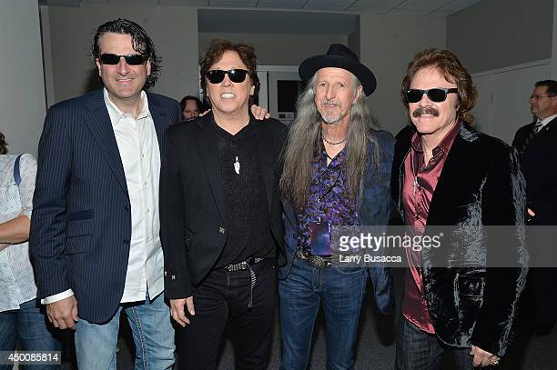 The Doobie Brothers attend the 2014 CMT Music awards at the Bridgestone Arena on June 4 2014 in Nashville Tennessee