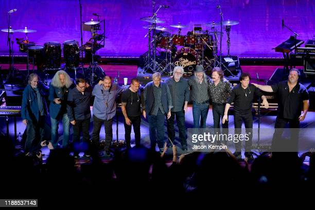 The Doobie Brothers Perform Toulouse Street And The Captain and Me Albums Live at The Ryman on November 18, 2019 in Nashville, Tennessee.