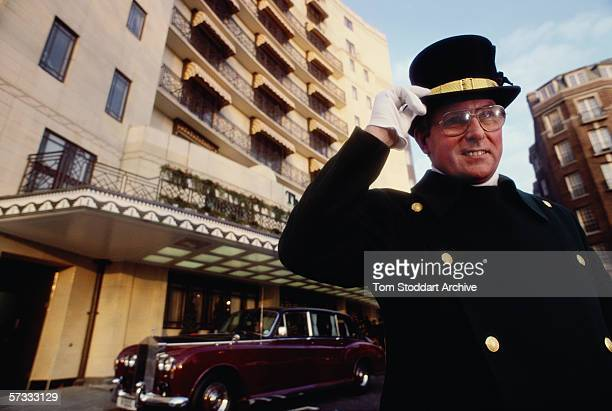 The doorman outside the Dorchester Hotel. The Dorchester Hotel on London's Park Lane opened its doors on April 18th 1931. Since then the name has...