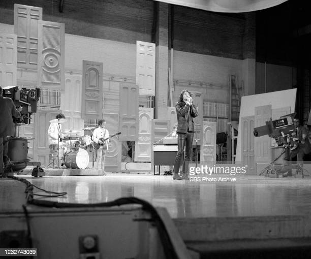 The Doors, featuring Jim Morrison, perform on THE ED SULLIVAN SHOW. September 17, 1967