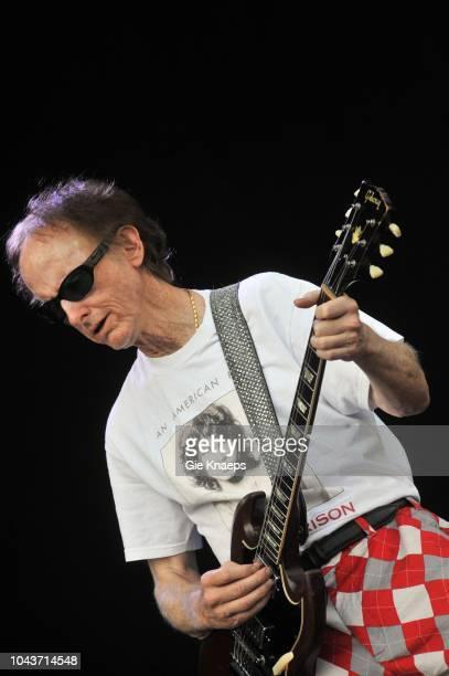 The Doors Robby Krieger with Jim Morrison Tshirt Suikerrock Festival Tienen Belgium 20th July 2010