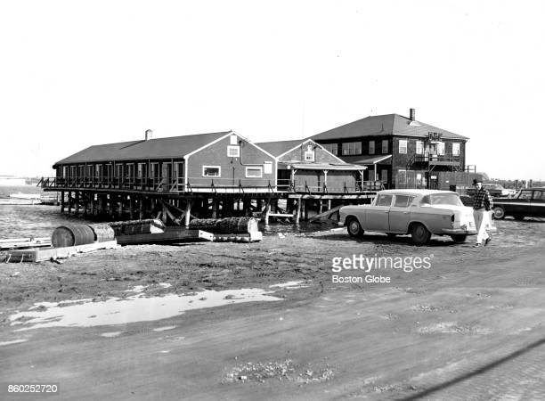 The Dorchester Yacht Club in Boston is pictured on Apr 2 1960