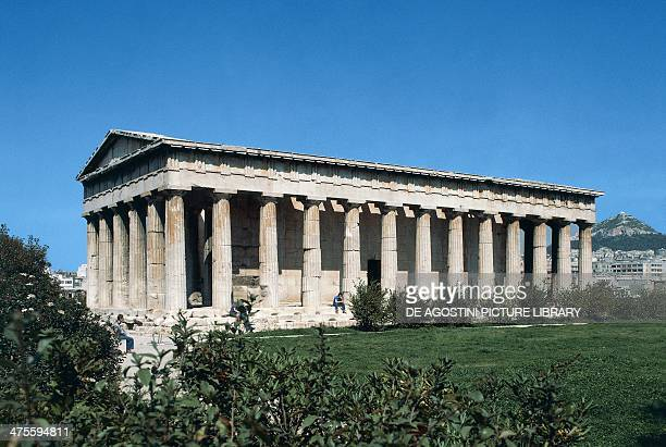 The Doric temple of Hephaestus Athens Greece Greek civilisation 5th century BC