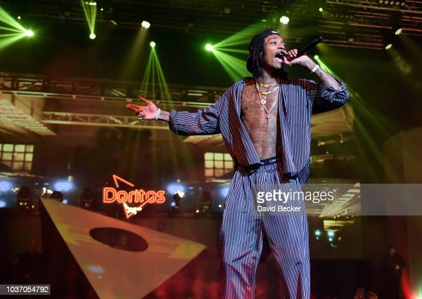 The Doritos #BlazeStage kicks off Life Is Beautiful with a Wiz Khalifaheadlined concert at The Foundry at the SLS Hotel in Las Vegas on September 20...