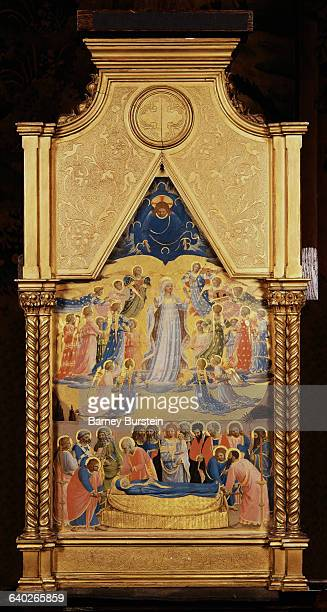 The Dormition and the Assumption of the Virgin by Fra Angelico