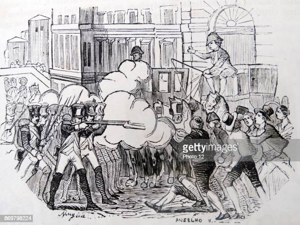 The Dos de Mayo of 1808 was a rebellion by the people of Madrid against the occupation of the city by French troops triggering the Peninsular War The...